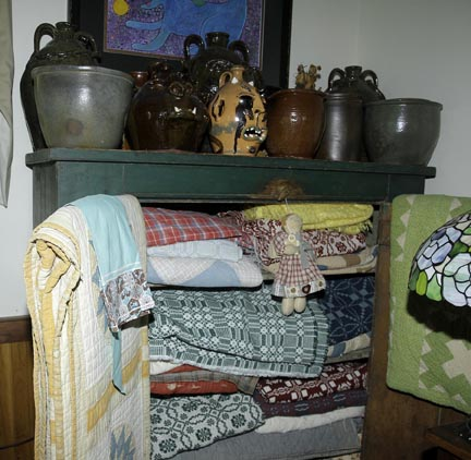 Mary L Weisfeld Living Estate Collection Abingdon Va. - Great_Quits_N_C_Pottery_Coverlets.jpg