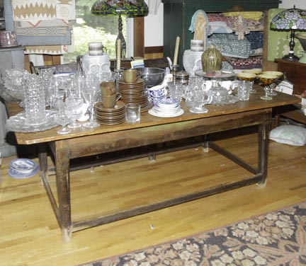 Mary L Weisfeld Living Estate Collection Abingdon Va. - Winston_Salem_Stretcher_table.jpg