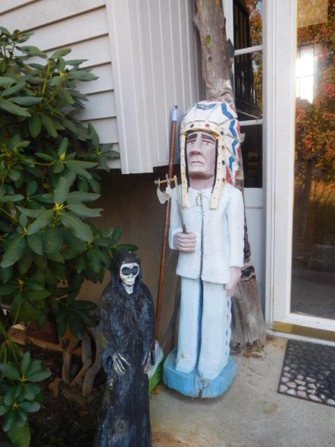 Yard Art, Stones, Carving,Vessels, Whirligigs, Folk Art from the Estate Of Mark King - DSCN1319.JPG