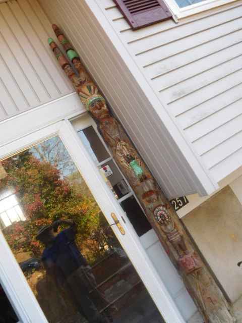 Yard Art, Stones, Carving,Vessels, Whirligigs, Folk Art from the Estate Of Mark King - DSCN1320.JPG