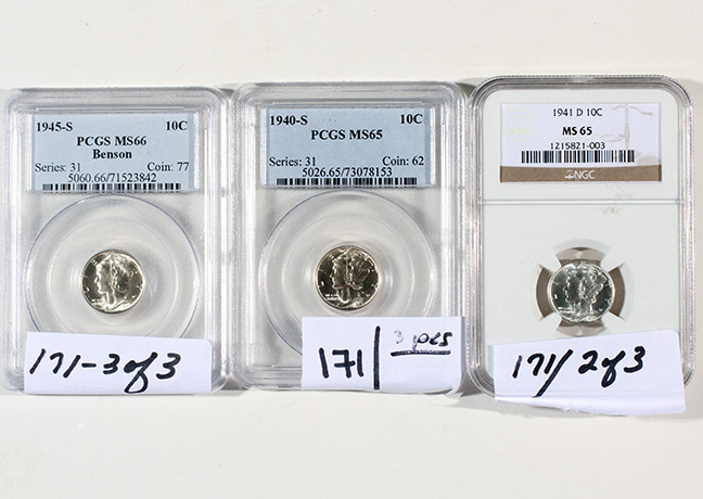 Rare Proof Coins and others, Fine Military-Modern- And Long Guns- A St. Louis Cane Collection - 171_1.jpg