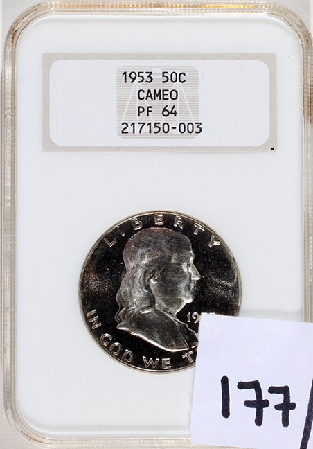 Rare Proof Coins and others, Fine Military-Modern- And Long Guns- A St. Louis Cane Collection - 177_1.jpg