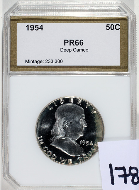 Rare Proof Coins and others, Fine Military-Modern- And Long Guns- A St. Louis Cane Collection - 178_1.jpg