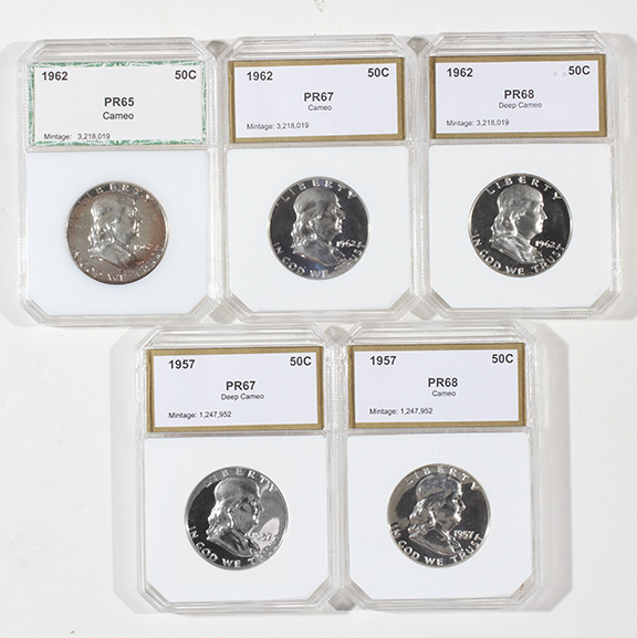 Rare Proof Coins and others, Fine Military-Modern- And Long Guns- A St. Louis Cane Collection - 183_1.jpg