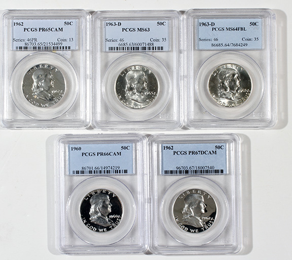 Rare Proof Coins and others, Fine Military-Modern- And Long Guns- A St. Louis Cane Collection - 184_1.jpg