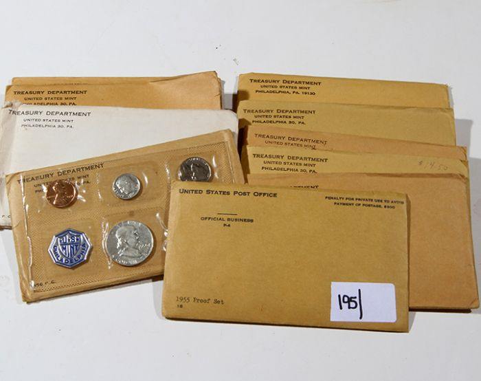 Rare Proof Coins and others, Fine Military-Modern- And Long Guns- A St. Louis Cane Collection - 195_1.jpg