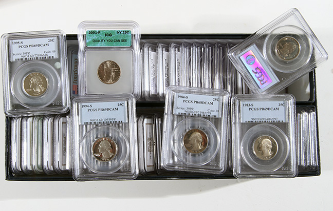 Rare Proof Coins and others, Fine Military-Modern- And Long Guns- A St. Louis Cane Collection - 61_1.jpg