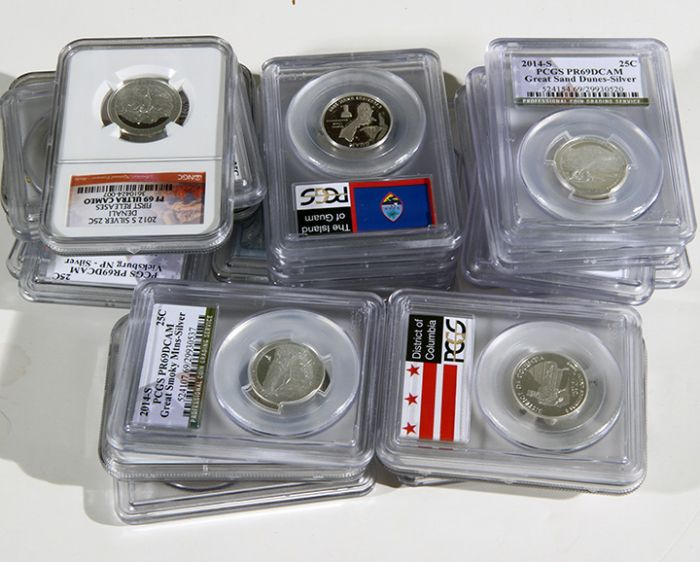 Rare Proof Coins and others, Fine Military-Modern- And Long Guns- A St. Louis Cane Collection - 64_1.jpg