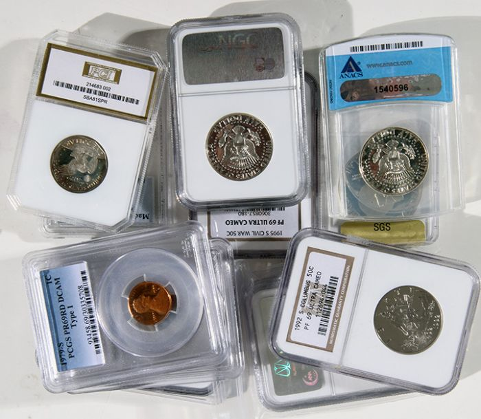Rare Proof Coins and others, Fine Military-Modern- And Long Guns- A St. Louis Cane Collection - 71_1.jpg