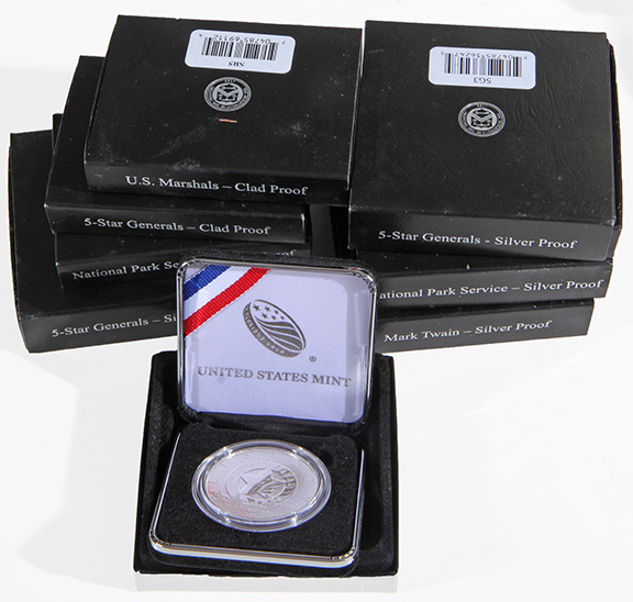 Rare Proof Coins and others, Fine Military-Modern- And Long Guns- A St. Louis Cane Collection - 76_1.jpg