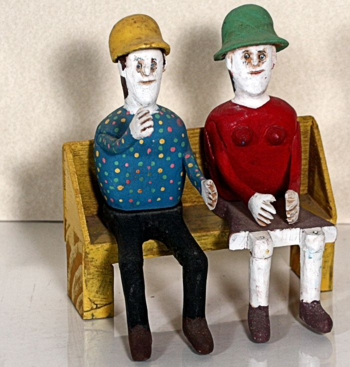 Ted and Ann Oliver Outsider- Folk Art and Pottery Lifetime Collection Auction - 110.jpg.JPG