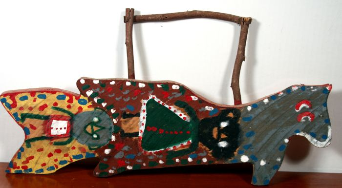 Ted and Ann Oliver Outsider- Folk Art and Pottery Lifetime Collection Auction - 139.jpg.JPG