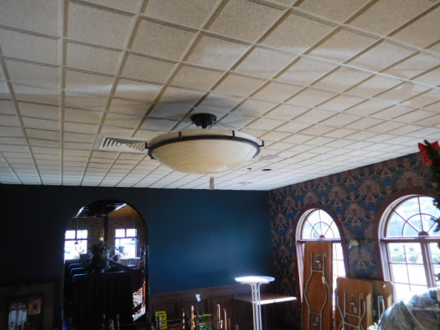 Peerless Restaurant- Furnishings, Kitchen- Architectural--Lighting and More - DSCN0011.JPG