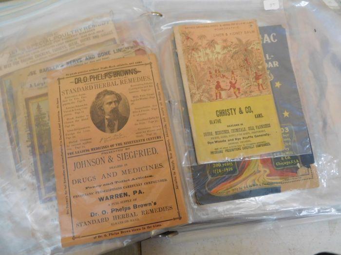 Ralph Van Brocklin Estate- Bottles- Post and Trade cards--Mini Jugs and other advertising - DSCN9656.JPG