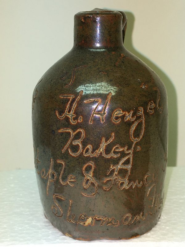 Ralph Van Brocklin Estate- Bottles- Post and Trade cards--Mini Jugs and other advertising - IMG_2708.JPG