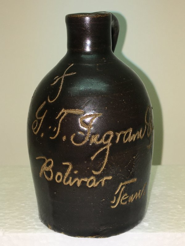 Ralph Van Brocklin Estate- Bottles- Post and Trade cards--Mini Jugs and other advertising - IMG_2885.JPG