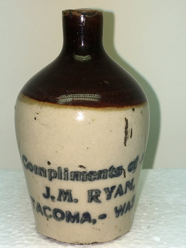 Ralph Van Brocklin Estate- Bottles- Post and Trade cards--Mini Jugs and other advertising - IMG_3049.JPG
