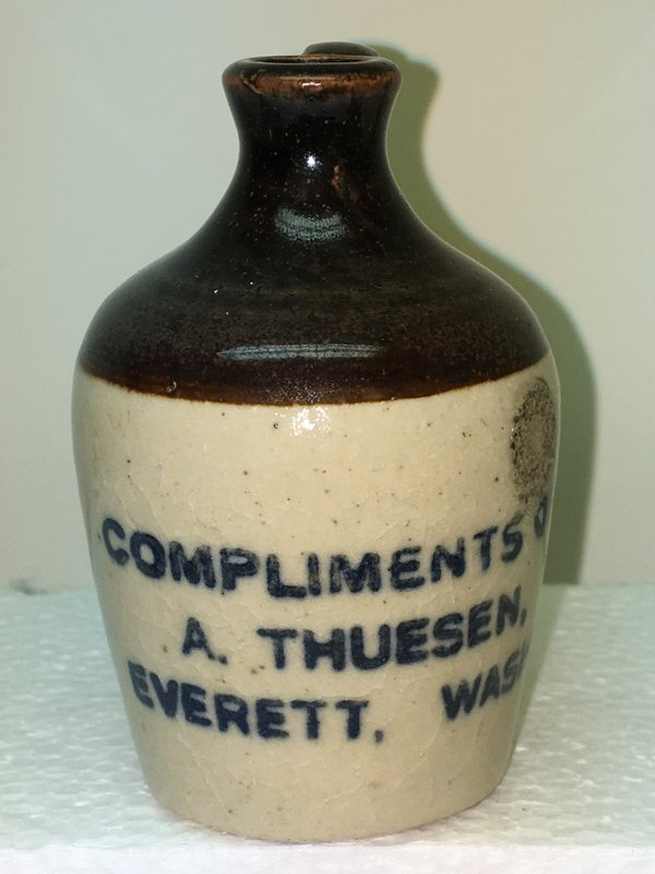 Ralph Van Brocklin Estate- Bottles- Post and Trade cards--Mini Jugs and other advertising - IMG_3052.JPG