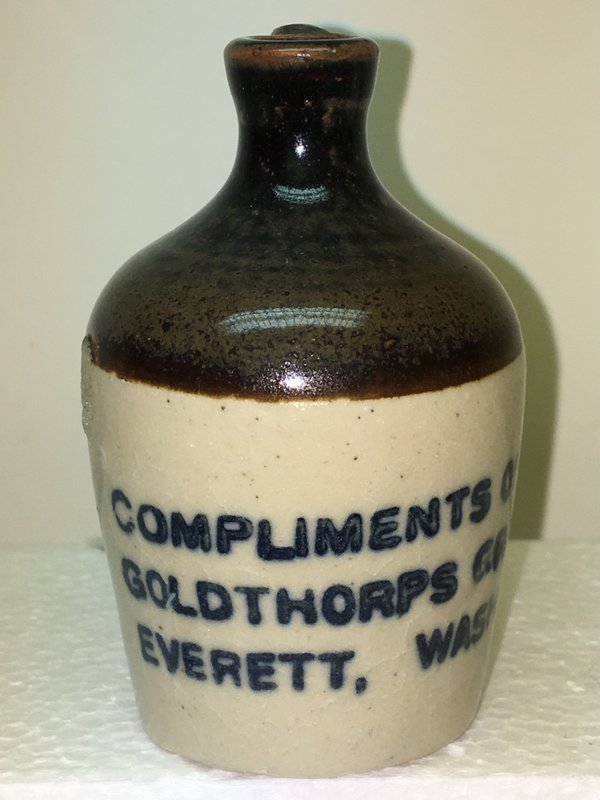 Ralph Van Brocklin Estate- Bottles- Post and Trade cards--Mini Jugs and other advertising - IMG_3053.JPG