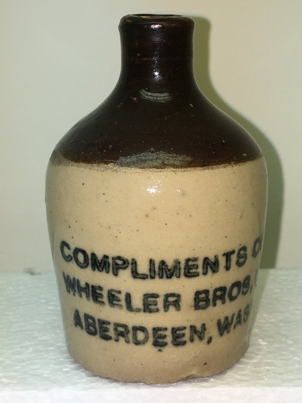 Ralph Van Brocklin Estate- Bottles- Post and Trade cards--Mini Jugs and other advertising - IMG_3059.JPG