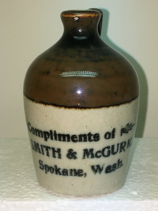 Ralph Van Brocklin Estate- Bottles- Post and Trade cards--Mini Jugs and other advertising - IMG_3065.JPG
