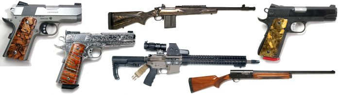 Mr. Terry Payne Custom Pistol,  Collectible Pistols, Long Guns, 50 Year Collection Online Auction  - gun-banner.jpg