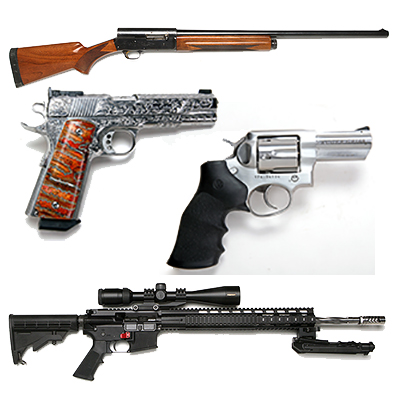 Mr. Terry Payne Custom Pistol,  Collectible Pistols, Long Guns, 50 Year Collection Online Auction  - guns400.jpg