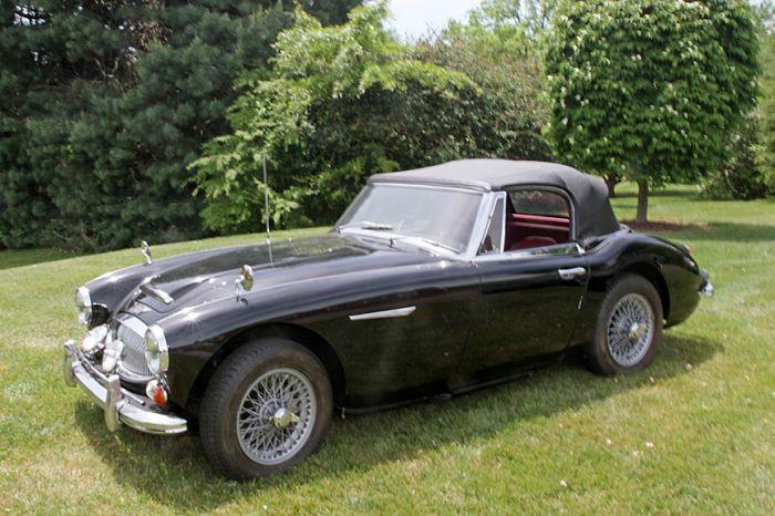 Chester Blankenship Sports Car Collection-Austin Healey MK III, Triumph TR-6, MGB, Lexus SC 430 Auction - 5036.jpg